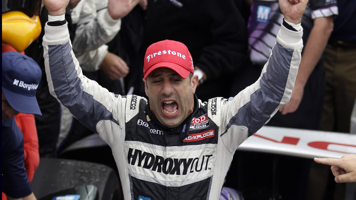 Tony Kanaan Ends Brickyard Heartache With Indy 500 Win 43190