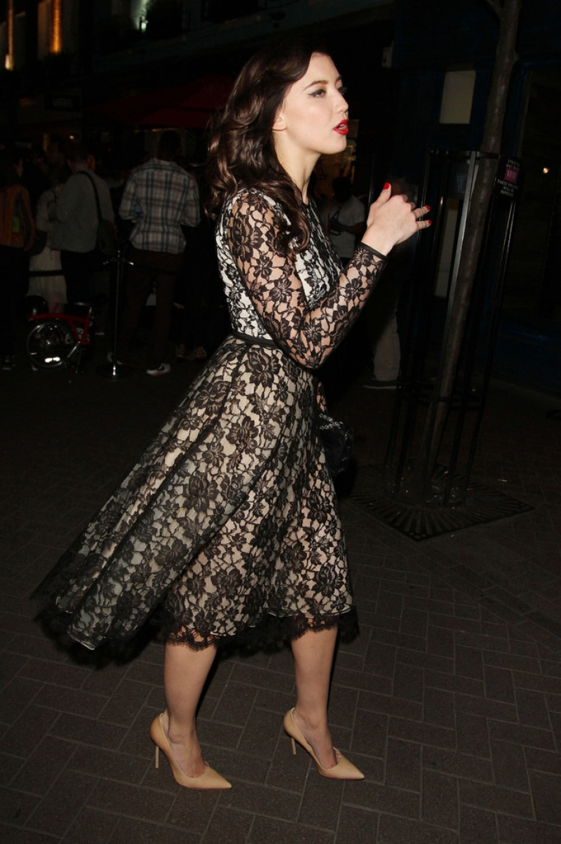 Daisy Lowe at the Eleven Paris Store Launch 43234