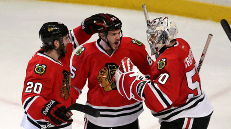 Blackhawks season hot streaks confidence 43235