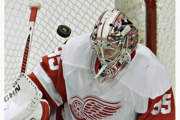 Red Wings, Blackhawks talk Game 6 43268