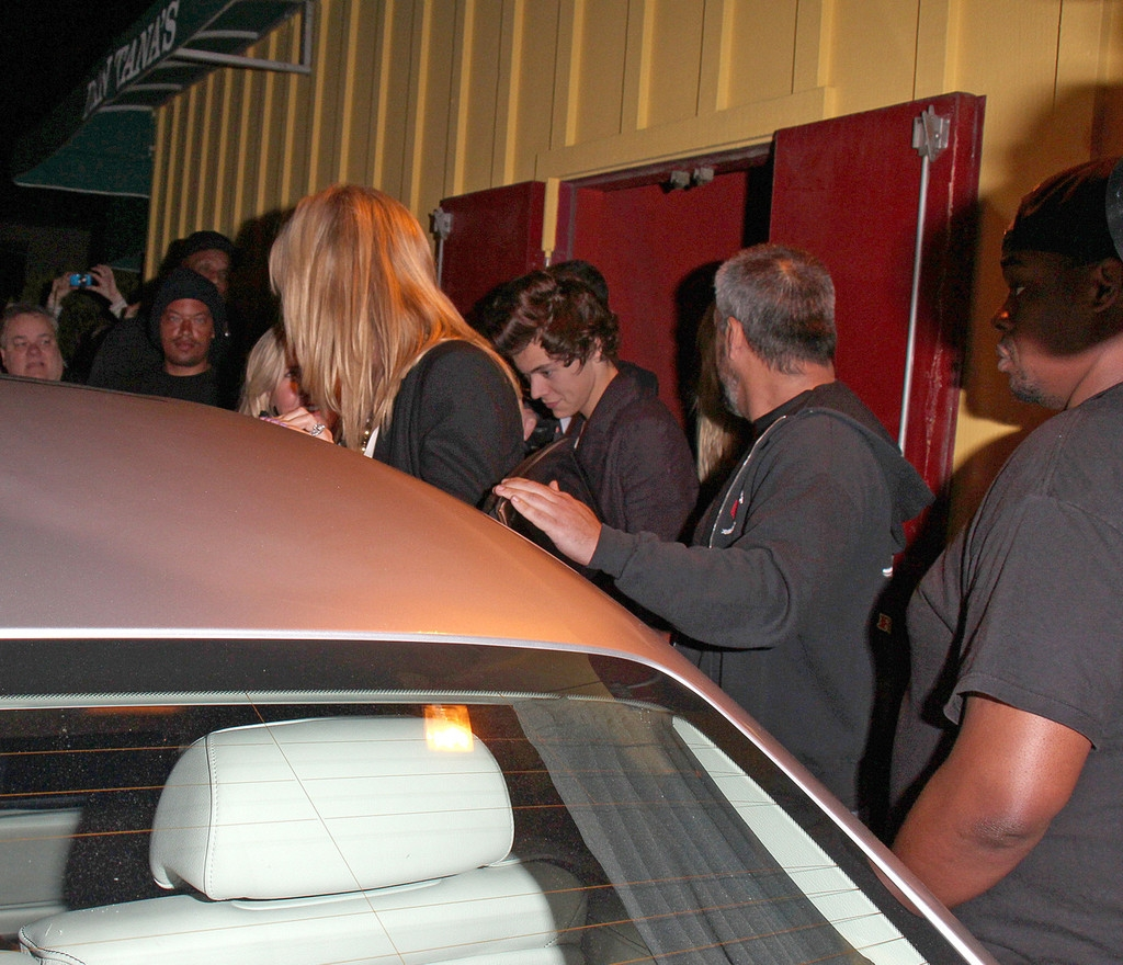 Harry Styles Out Partying With Friends 43288