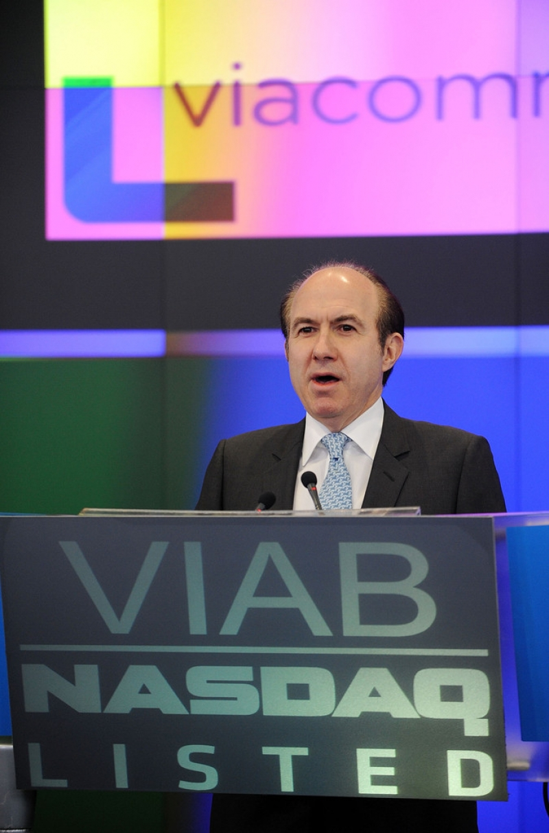 Viacom Rings the Stock Market Opening Bell  43299