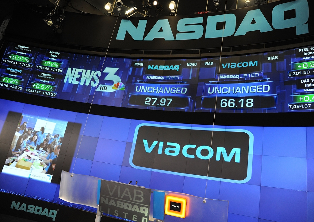 Viacom Rings the Stock Market Opening Bell  43316