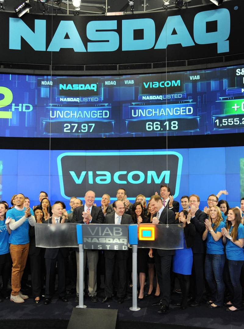 Viacom Rings the Stock Market Opening Bell  43373