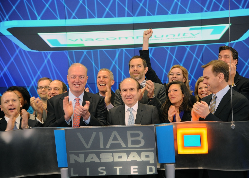 Viacom Rings the Stock Market Opening Bell  43396