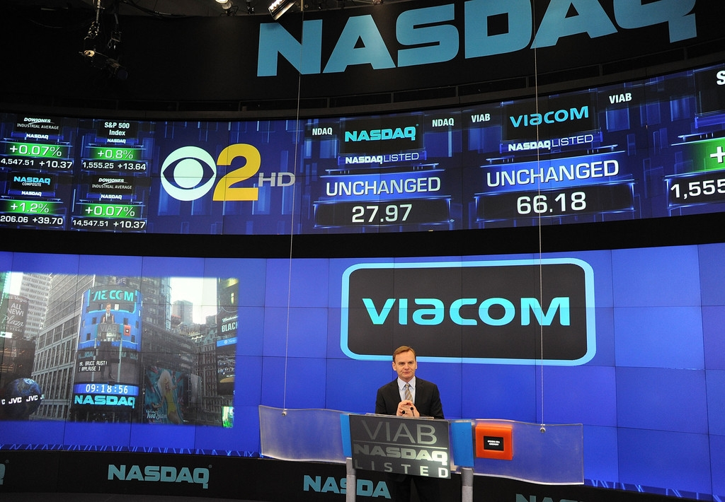 Viacom Rings the Stock Market Opening Bell  43397