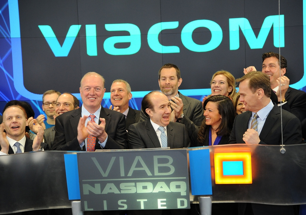 Viacom Rings the Stock Market Opening Bell  43400