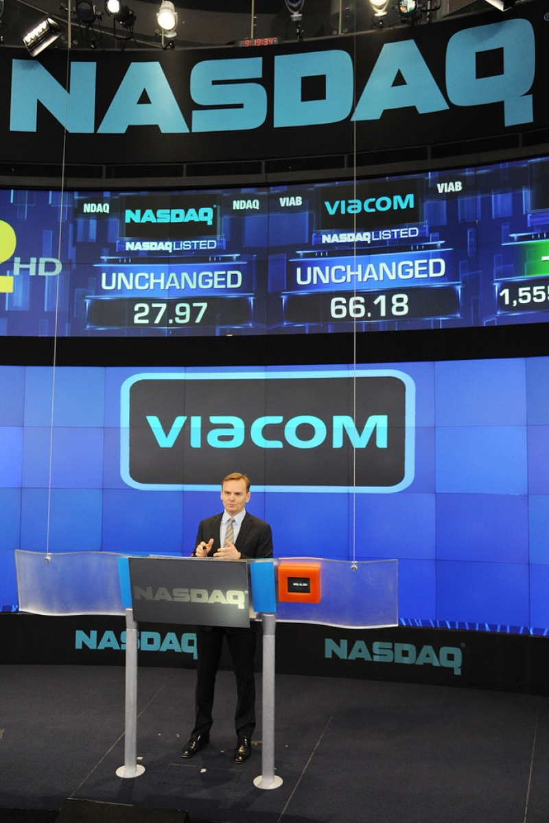 Viacom Rings the Stock Market Opening Bell  43404