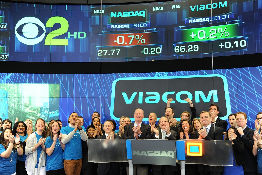 Viacom Rings the Stock Market Opening Bell  43427