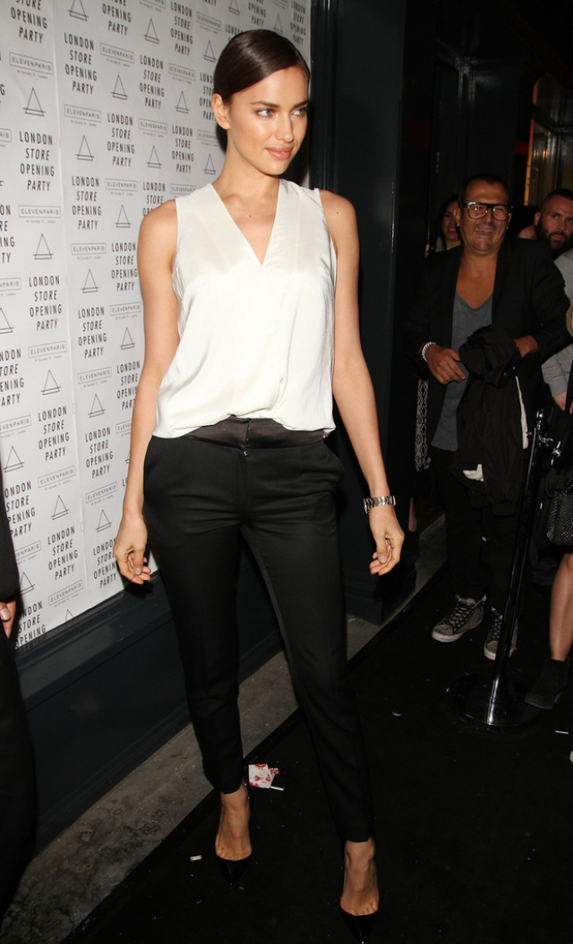 Irina Shayk at the Eleven Paris Store Launch 43440