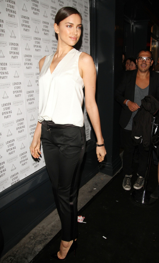 Irina Shayk at the Eleven Paris Store Launch 43465