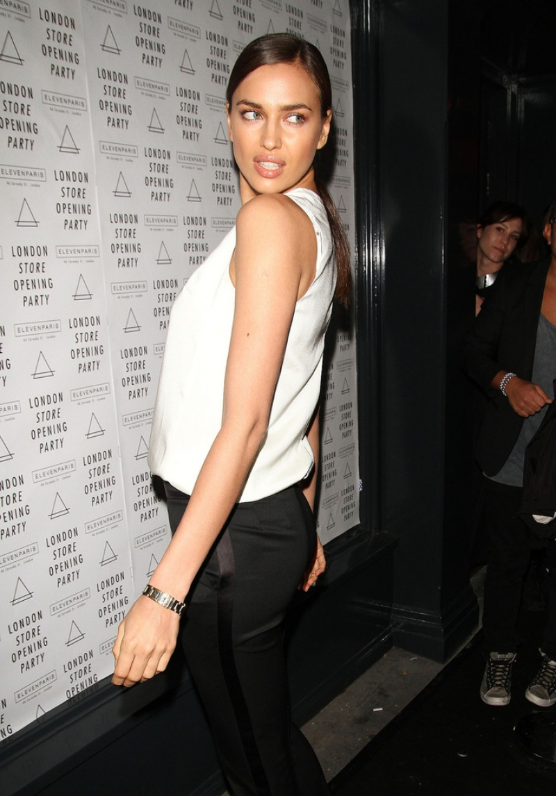 Irina Shayk at the Eleven Paris Store Launch 43468