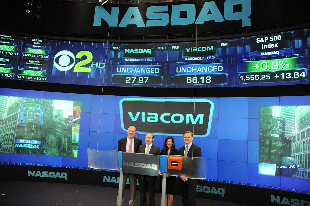Viacom Rings the Stock Market Opening Bell  43472