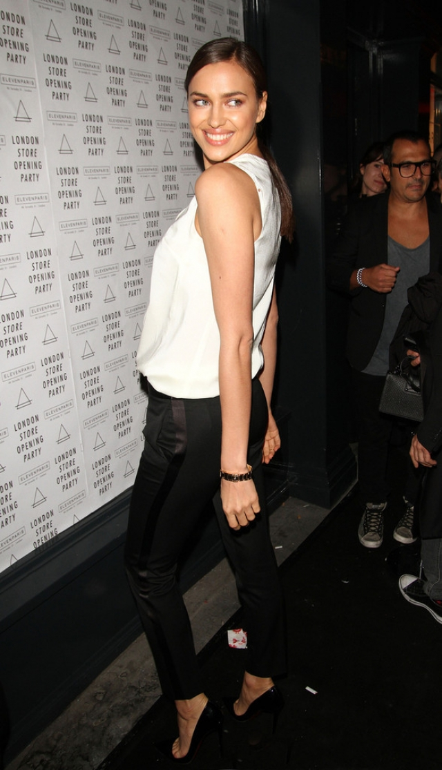 Irina Shayk at the Eleven Paris Store Launch 43475