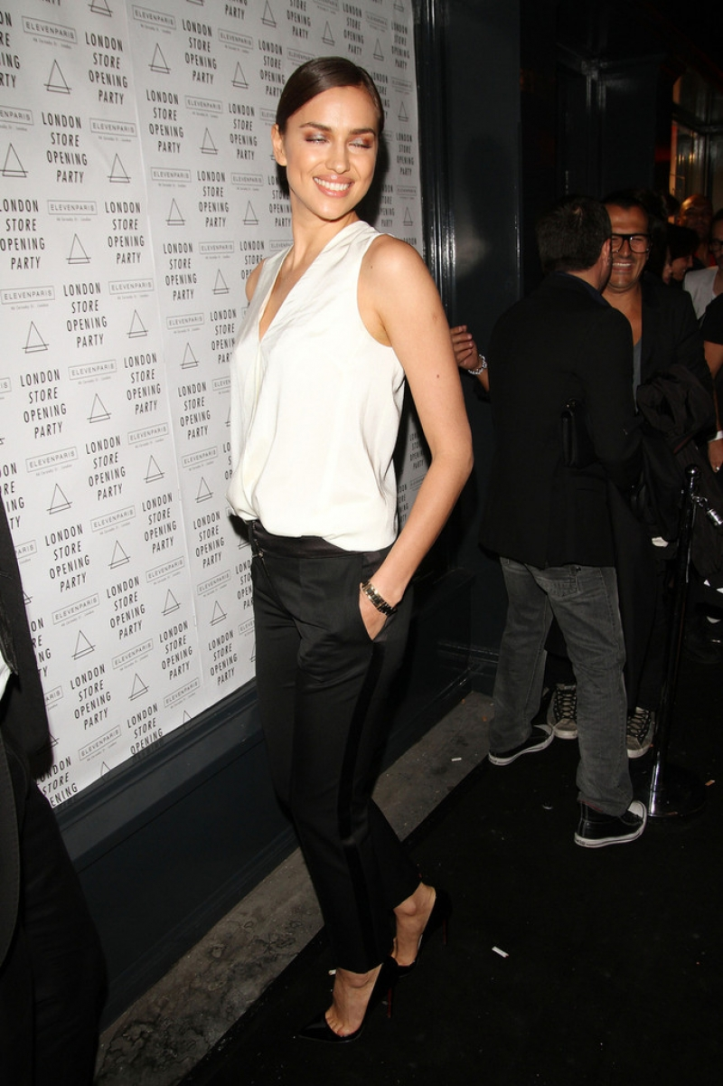 Irina Shayk at the Eleven Paris Store Launch 43481