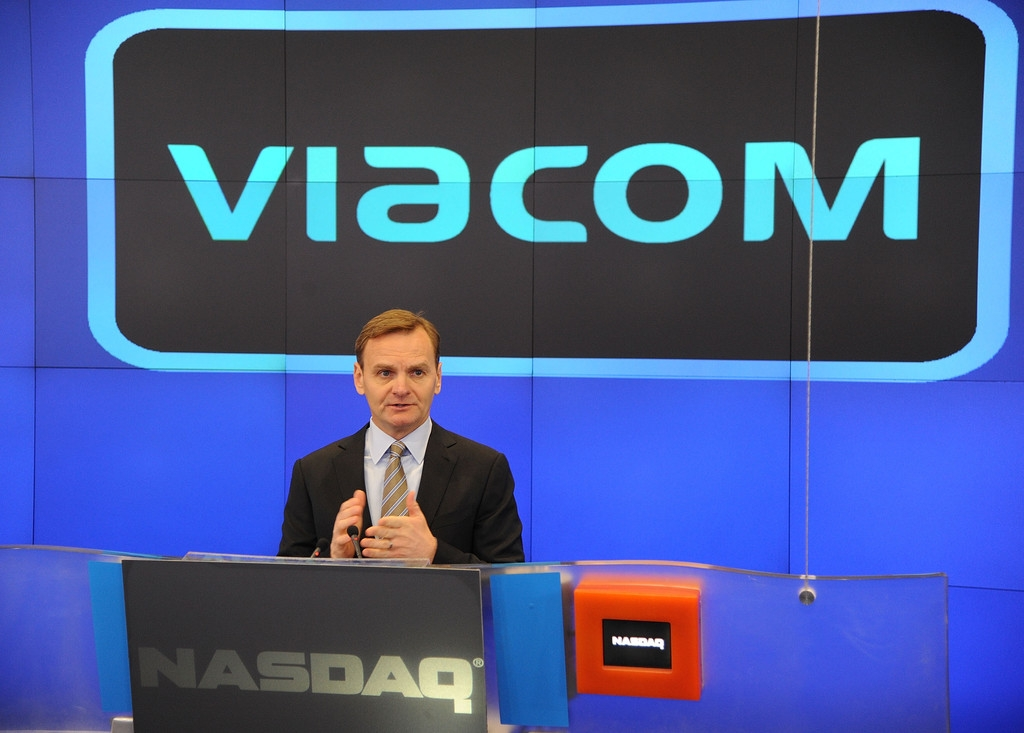 Viacom Rings the Stock Market Opening Bell  43489
