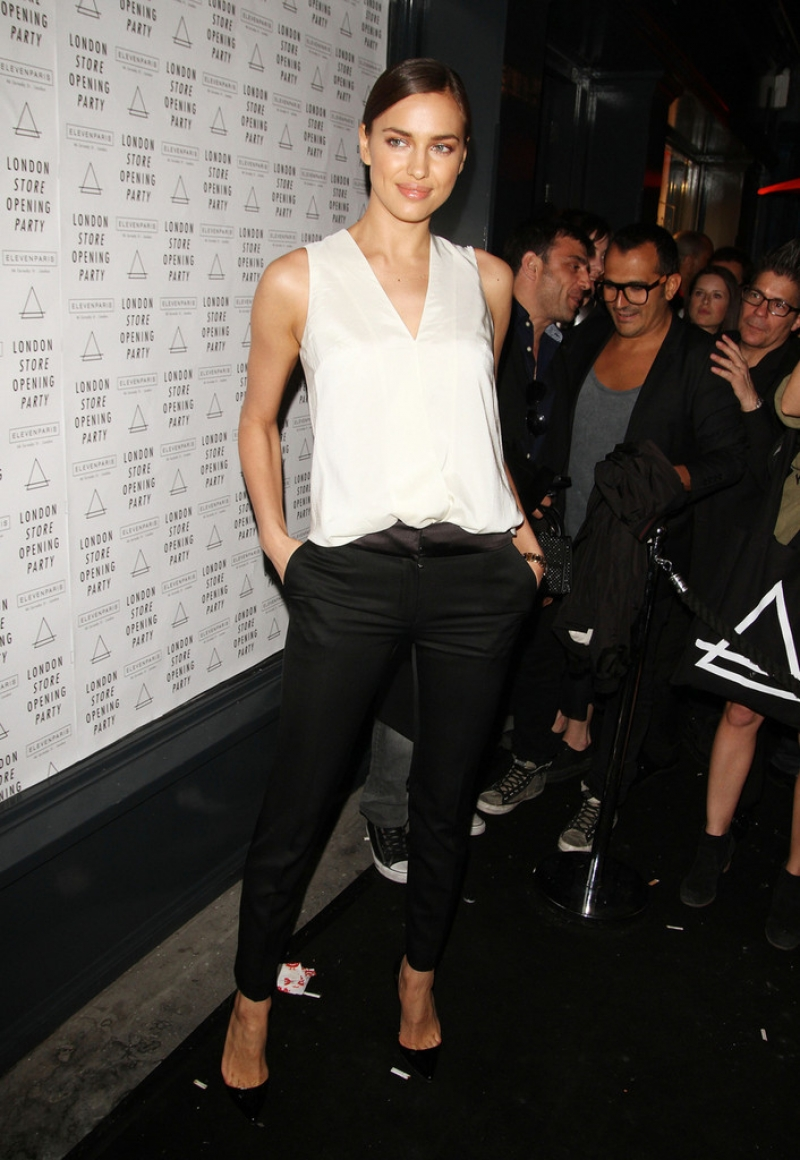Irina Shayk at the Eleven Paris Store Launch 43498