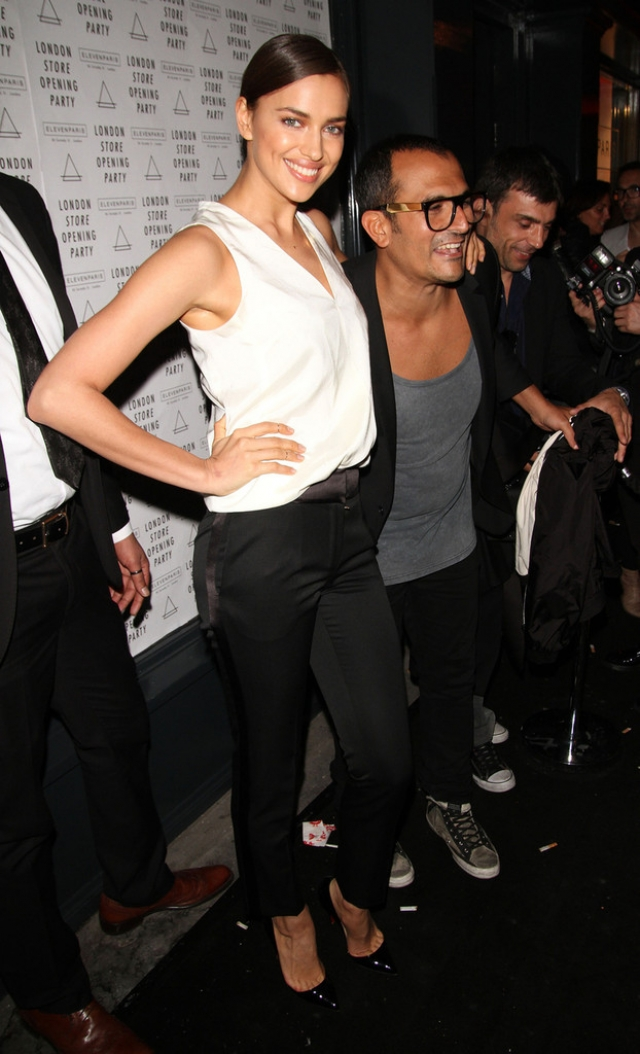 Irina Shayk at the Eleven Paris Store Launch 43505