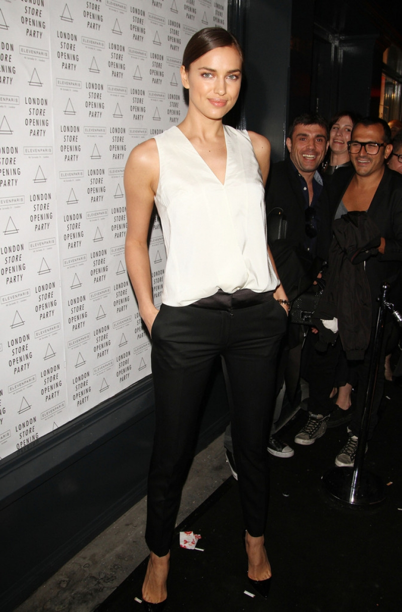 Irina Shayk at the Eleven Paris Store Launch 43512