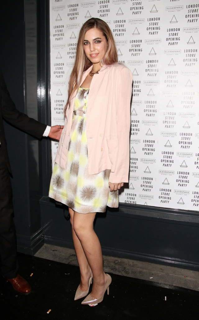 Amber Le Bon Poses at the Eleven Paris Store 43528