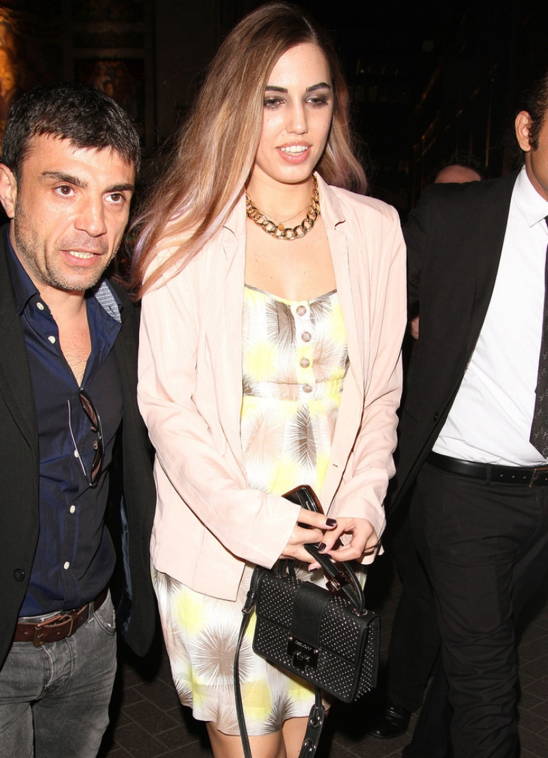 Amber Le Bon Poses at the Eleven Paris Store 43530