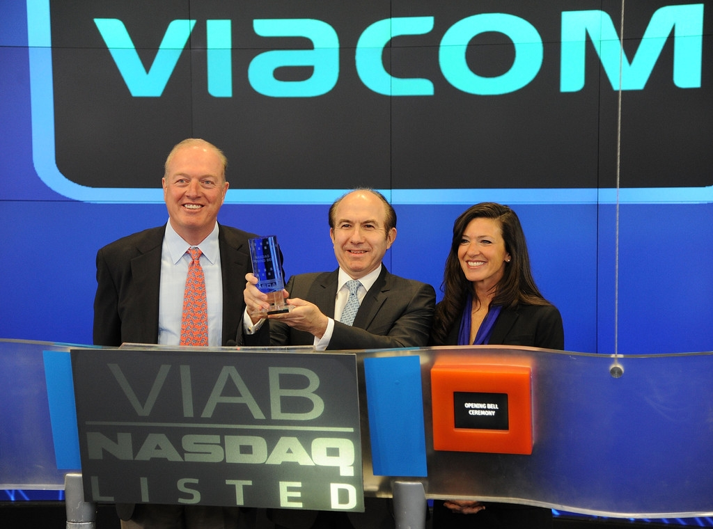 Viacom Rings the Stock Market Opening Bell  43543