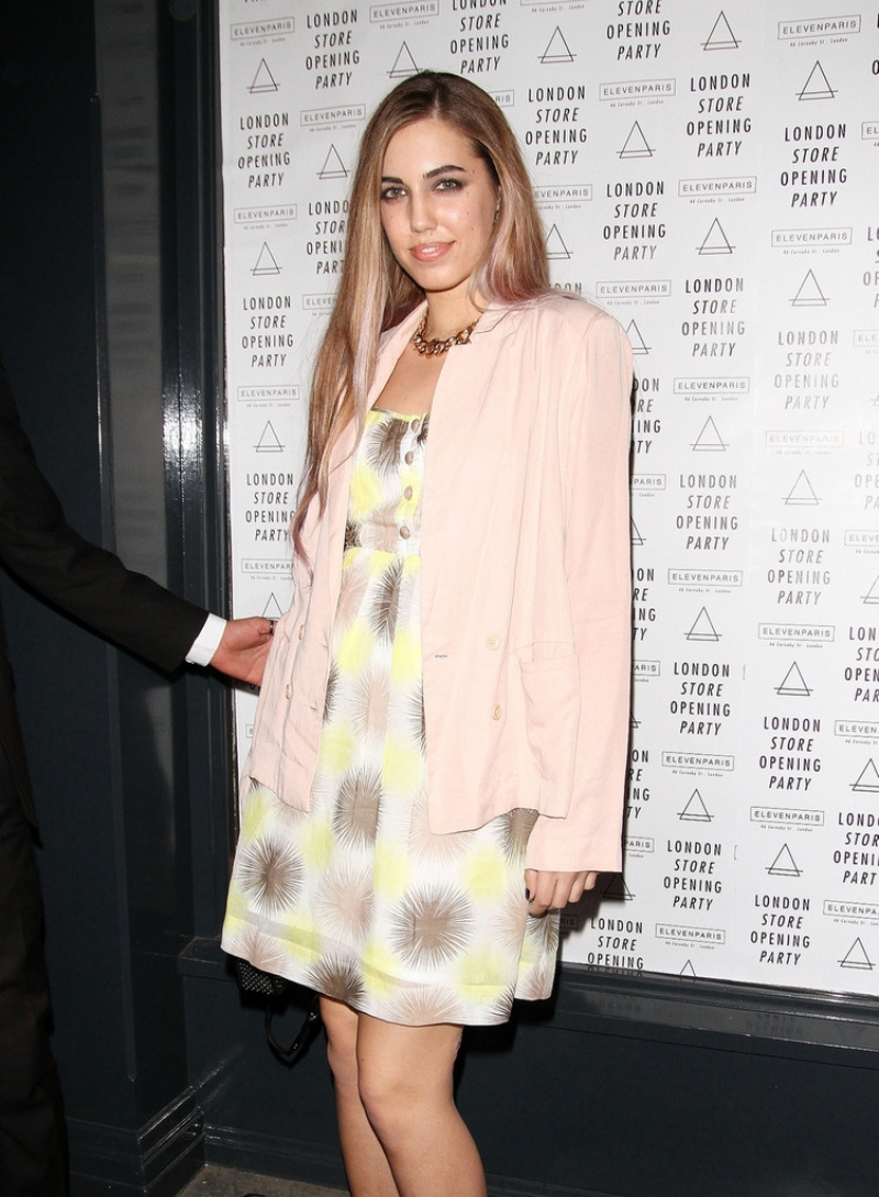Amber Le Bon Poses at the Eleven Paris Store 43551
