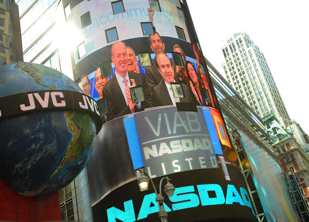 Viacom Rings the Stock Market Opening Bell  43588