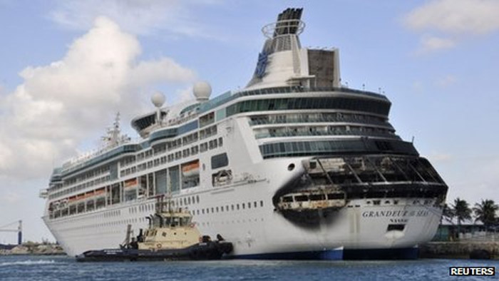 Royal Caribbean cruise in the Bahamas canceled after fire 43779