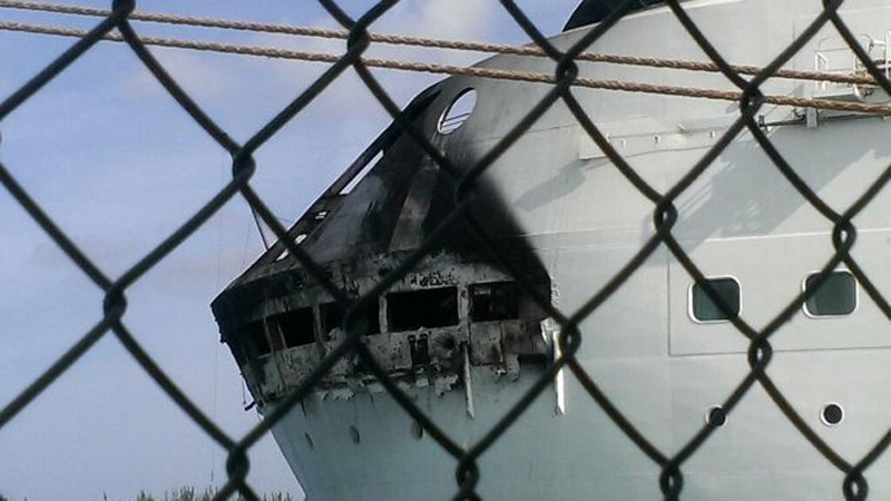 Royal Caribbean cruise ship fire on way to Bahamas 43782