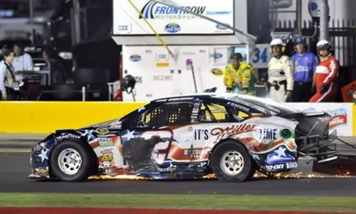 Brad Keselowski drops in NASCAR Sprint Cup standings after DNF at Charlotte 43881