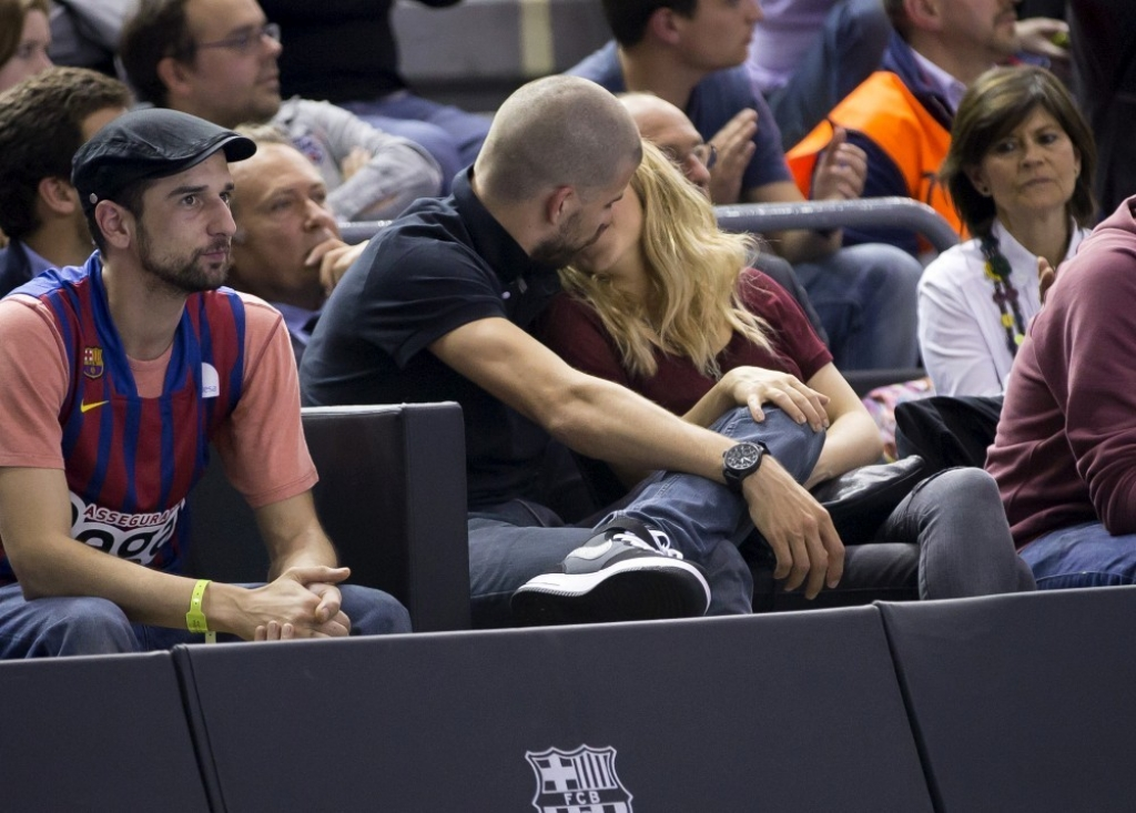 Shakira and Gerard Pique Watch a Game in Spain 2 44065