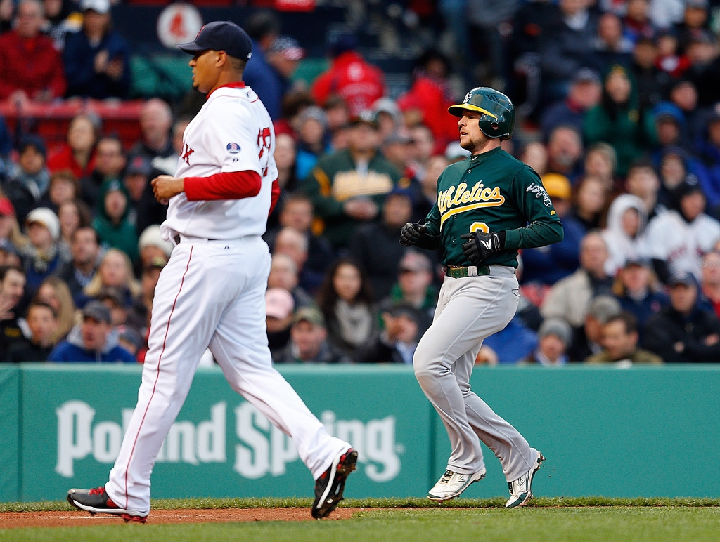 Oakland Athletics v Boston Red Sox 44080