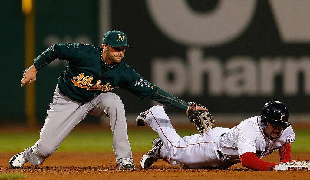 Oakland Athletics v Boston Red Sox 44159