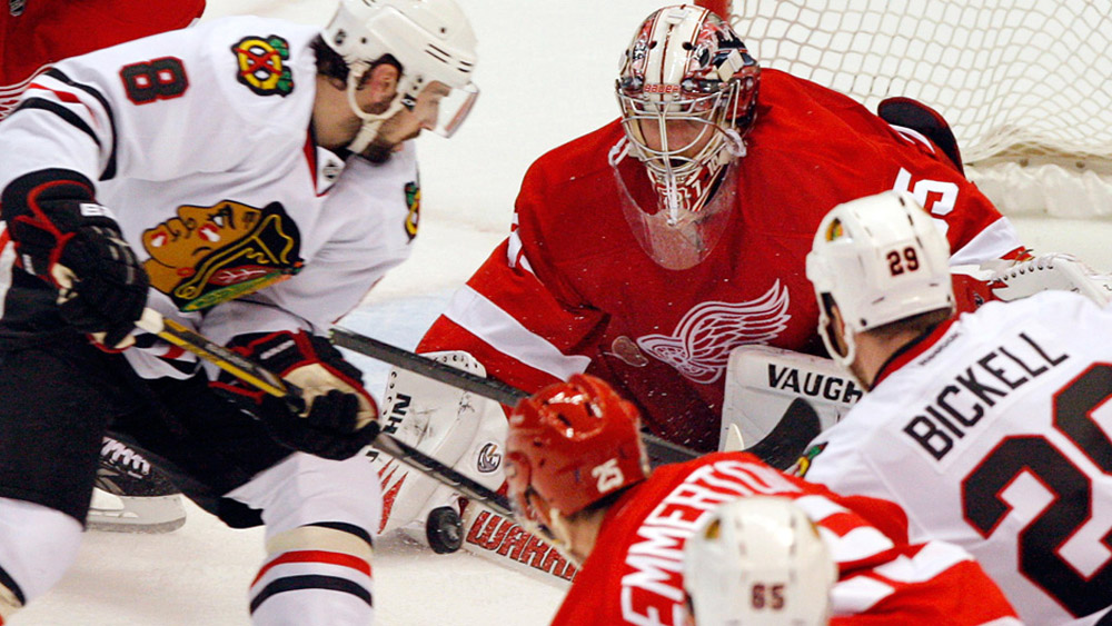 Blackhawks, Red Wings prepare for series finale 44209