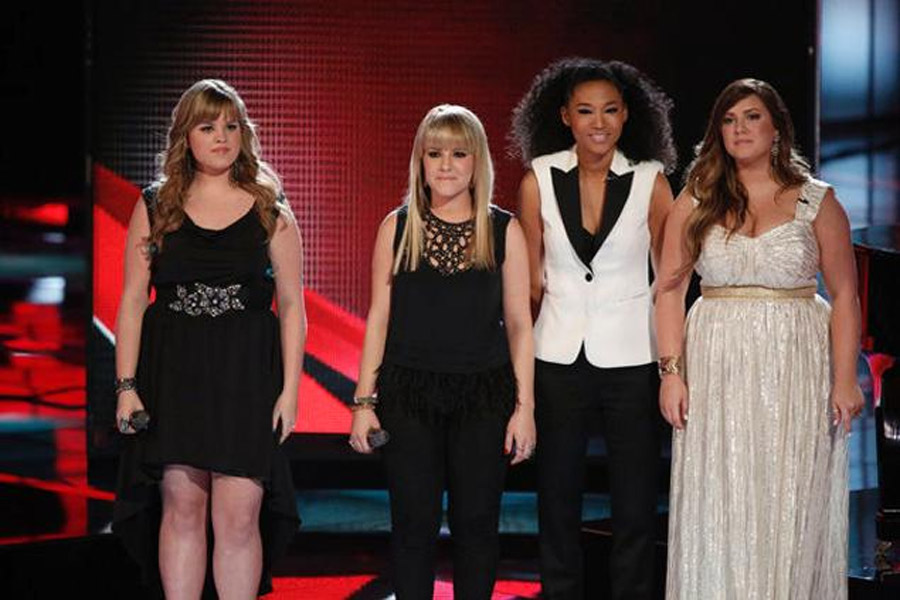 """On the May 28 episode of """"The Voice,"""" everyone was shocked by the removal of Adam and Sarah Judith teams. 44257"""