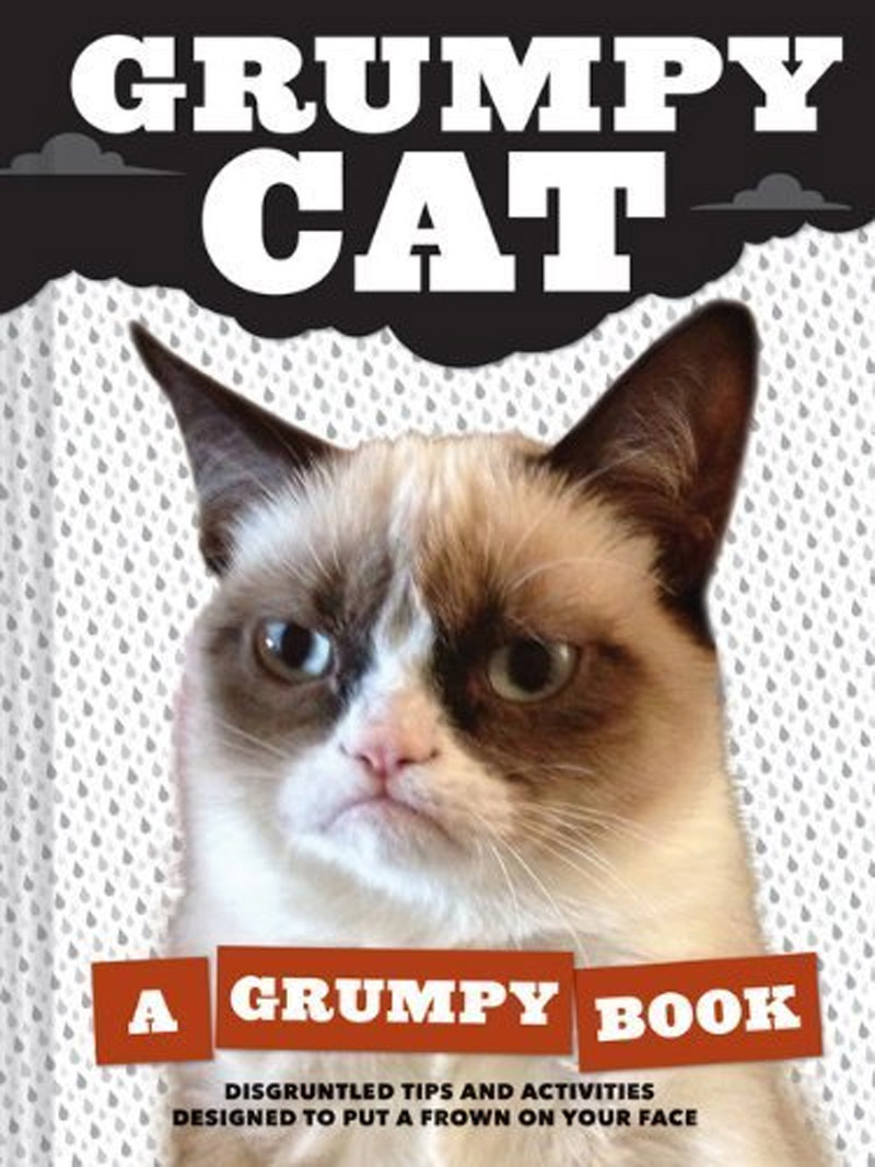 Grumpy Cat, soon to be a movie star, will appear at Book Expo 44308