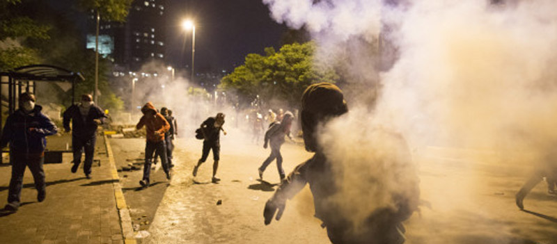 Violence Flares On 4th Day Of Anti-Government Demonstrations 44386