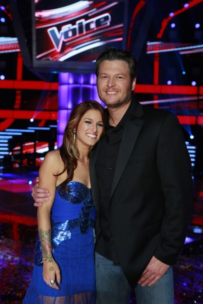 Does The Voice's Cassadee Pope Keep In Touch With Coach Blake Shelton? 44408