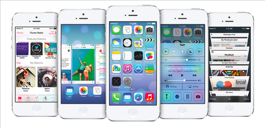 Finally, Apple steps up to Android with the futuristic, ambitious iOS 7 44474
