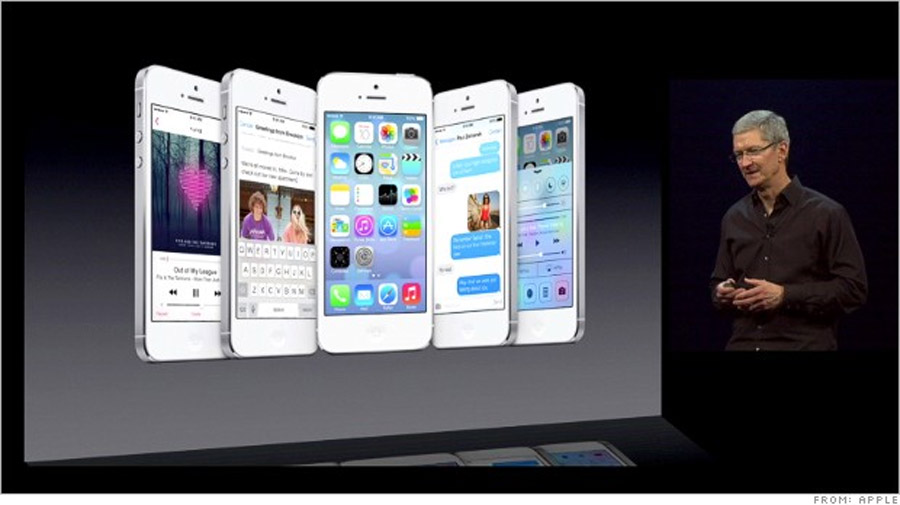 Apple unveils iOS 7 in biggest update ever 44475