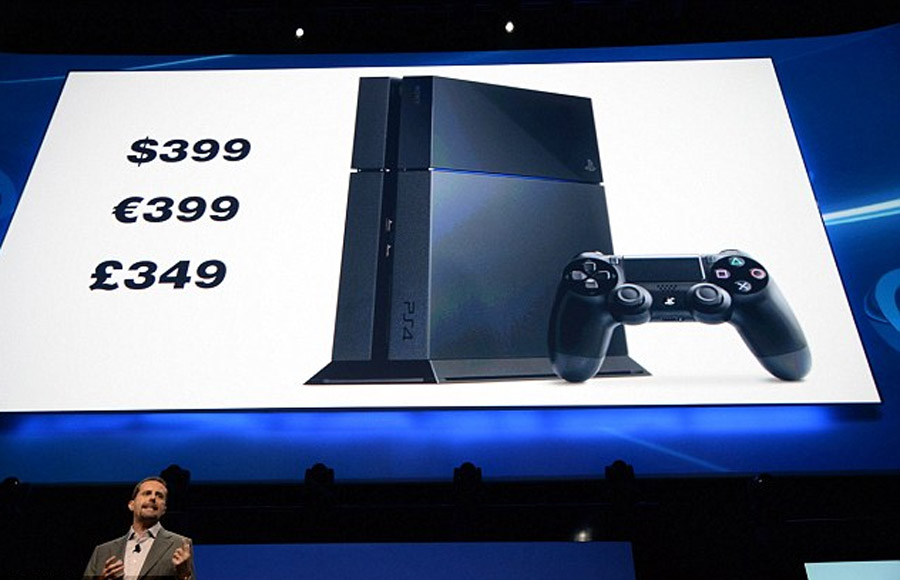 Sony tiết lộ the new PlayStation 4 will giá $ 399 ($ 100 rẻ higher than để with Xbox One) and is available in the time for the day idle 44479