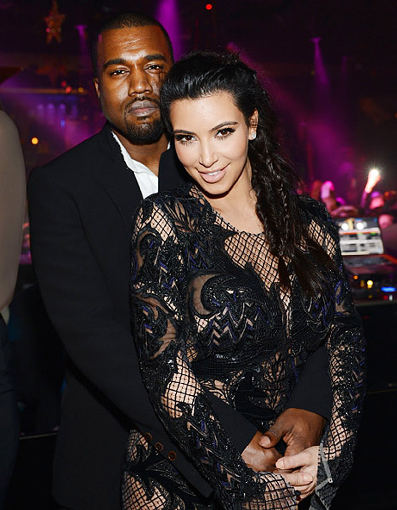 Kanye West Did Not Cheat on Pregnant Kim Kardashian: 44521