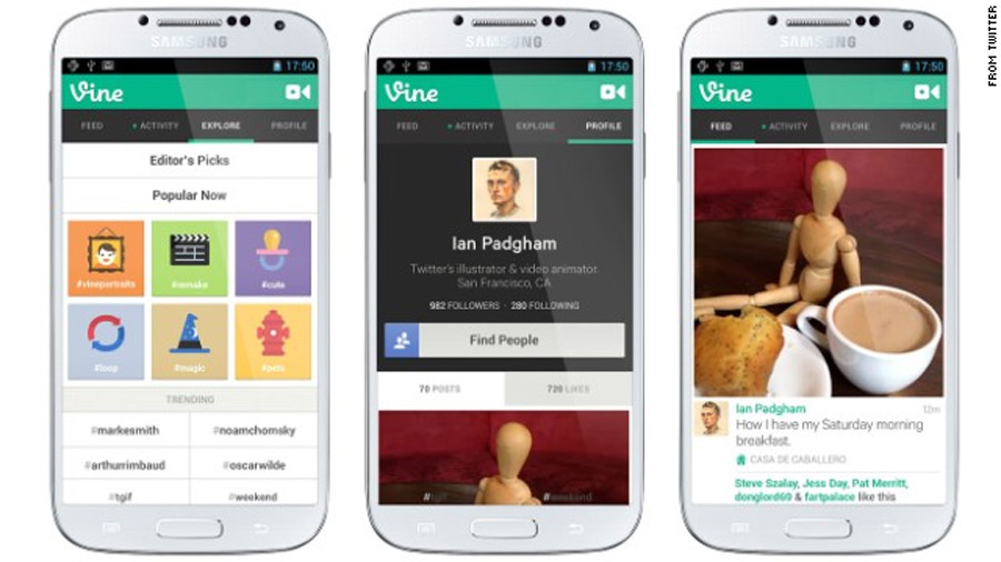 Vine, Instagram and the rise of bite-sized video 44534