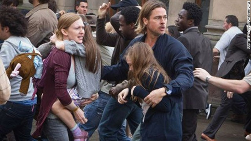 'World War Z' is scary good fun 44555