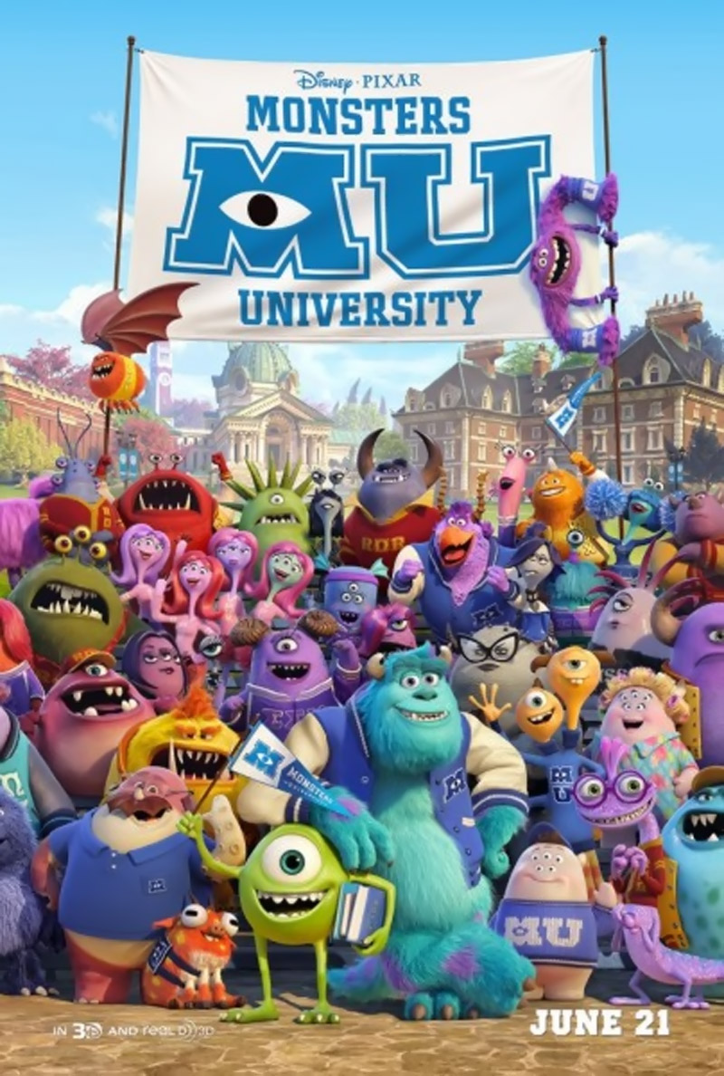 Monsters University opens in theaters on June 21st. 44565
