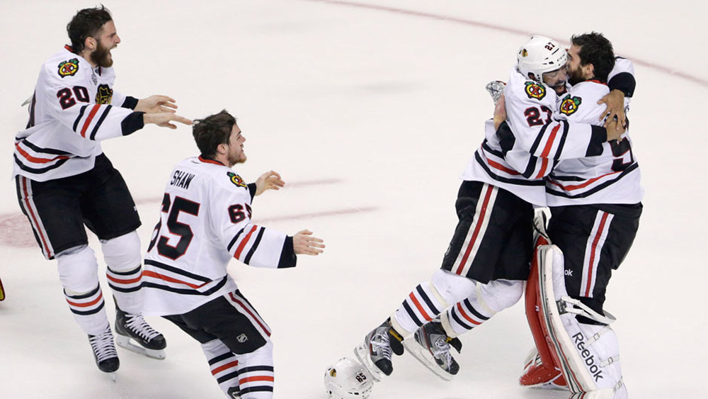 Blackhawks players tweet after winning Stanley Cup 44603