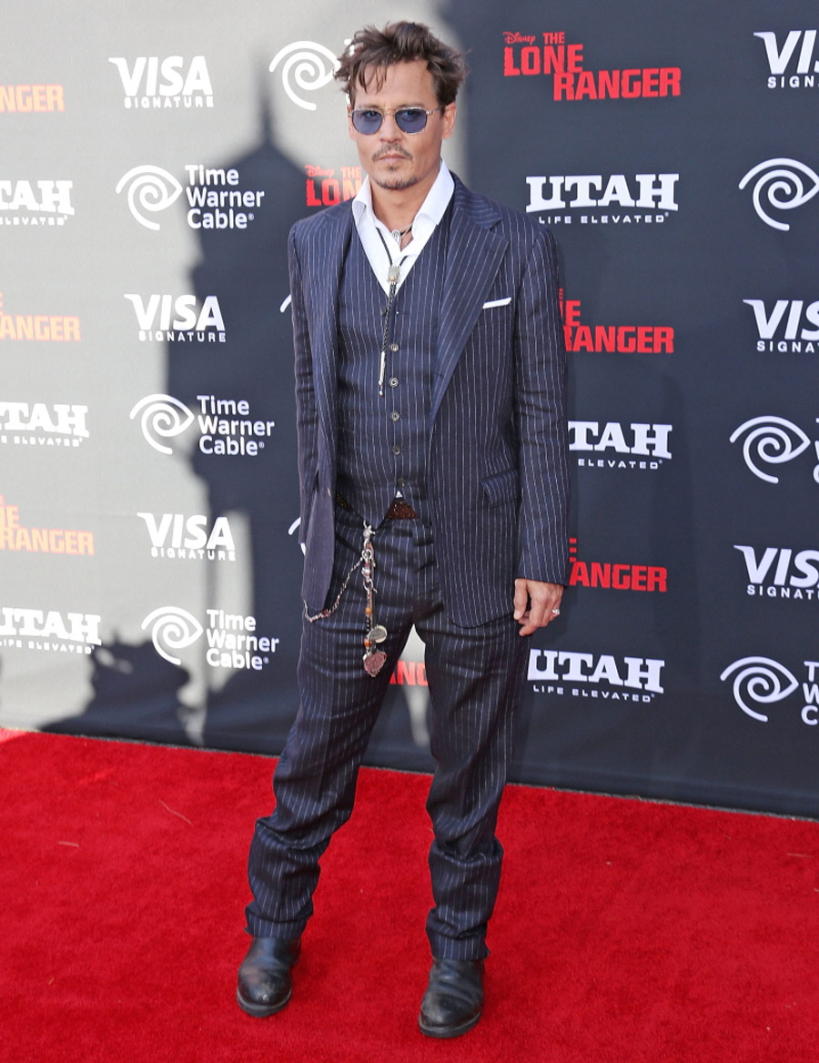 Johnny Depp v. Armie Hammer at 'The Lone Ranger' premiere: who looked better? 44622