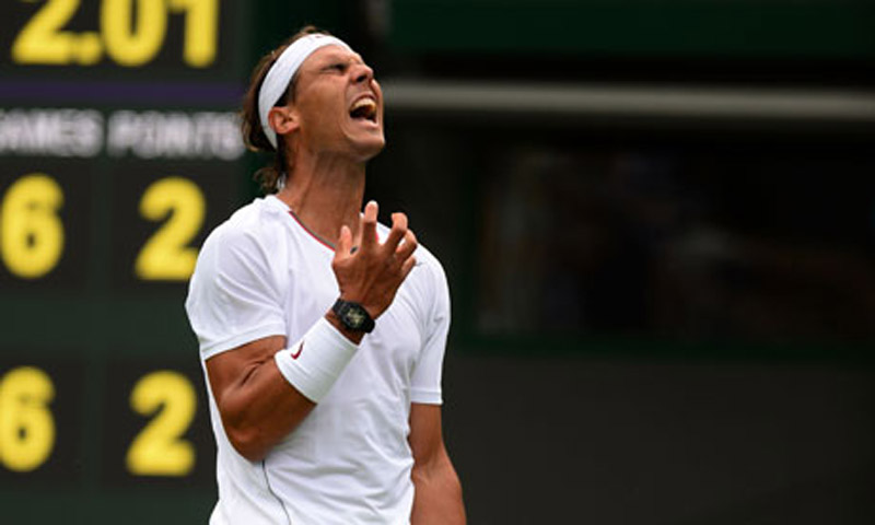 Nadal's shock exit will see the question again 44625