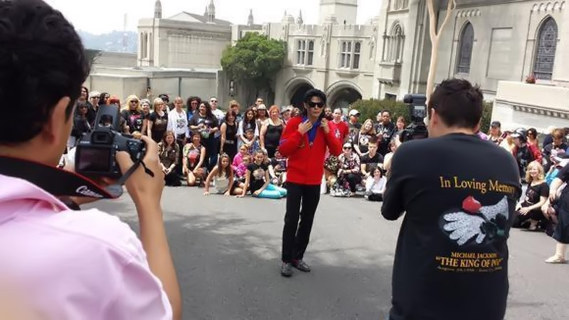 Michael Jackson fans celebrate singer four years after death 44627